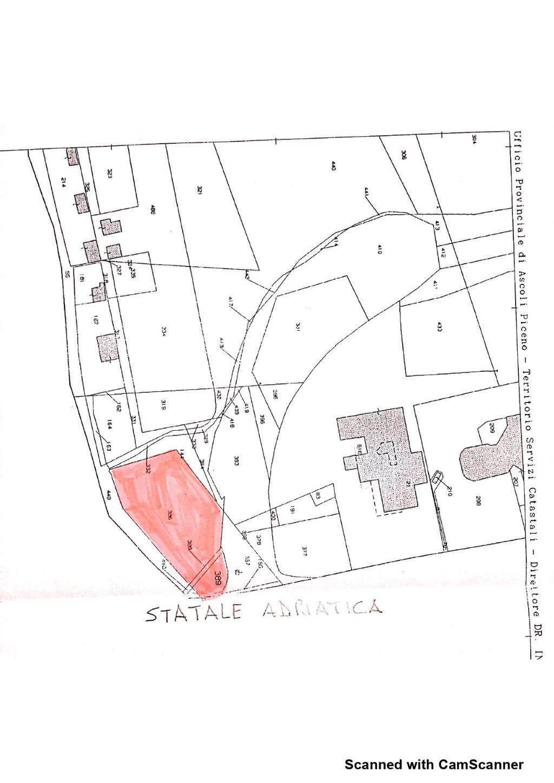 Rif. CVE19 Vendesi terreno per esposizione a Porto d'Ascoli