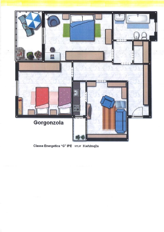 Appartamento in vendita a Gorgonzola, 3 locali, prezzo € 150.000 | CambioCasa.it