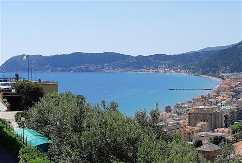 Alassio, appartamento vista mare