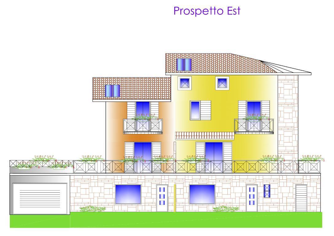 Vendita villa bifamiliare Cisano Bergamasco superficie 143m2