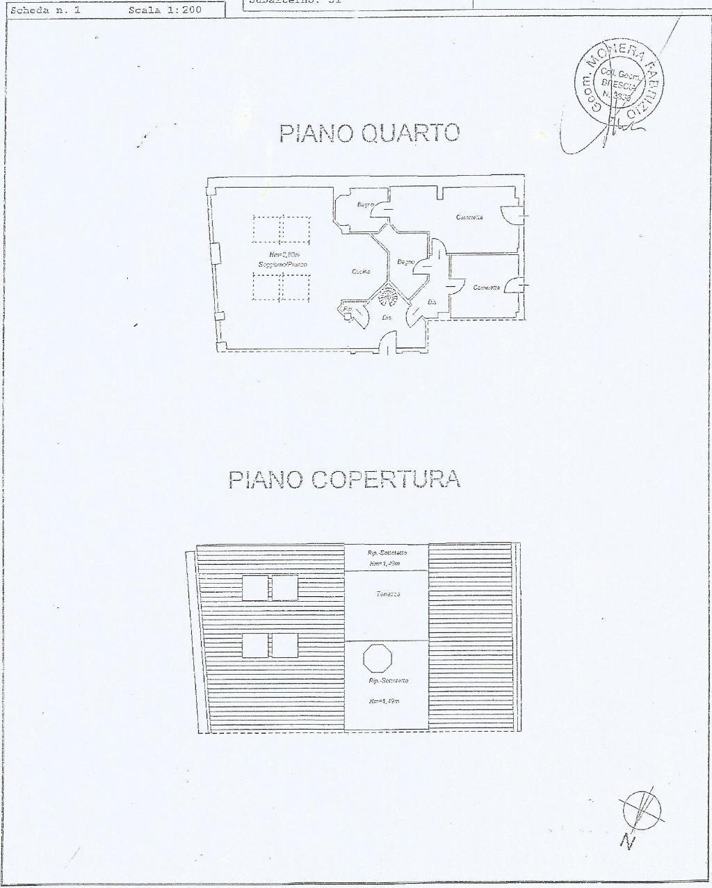 Attico / Mansarda in vendita a Desenzano del Garda, 4 locali, Trattative riservate | PortaleAgenzieImmobiliari.it